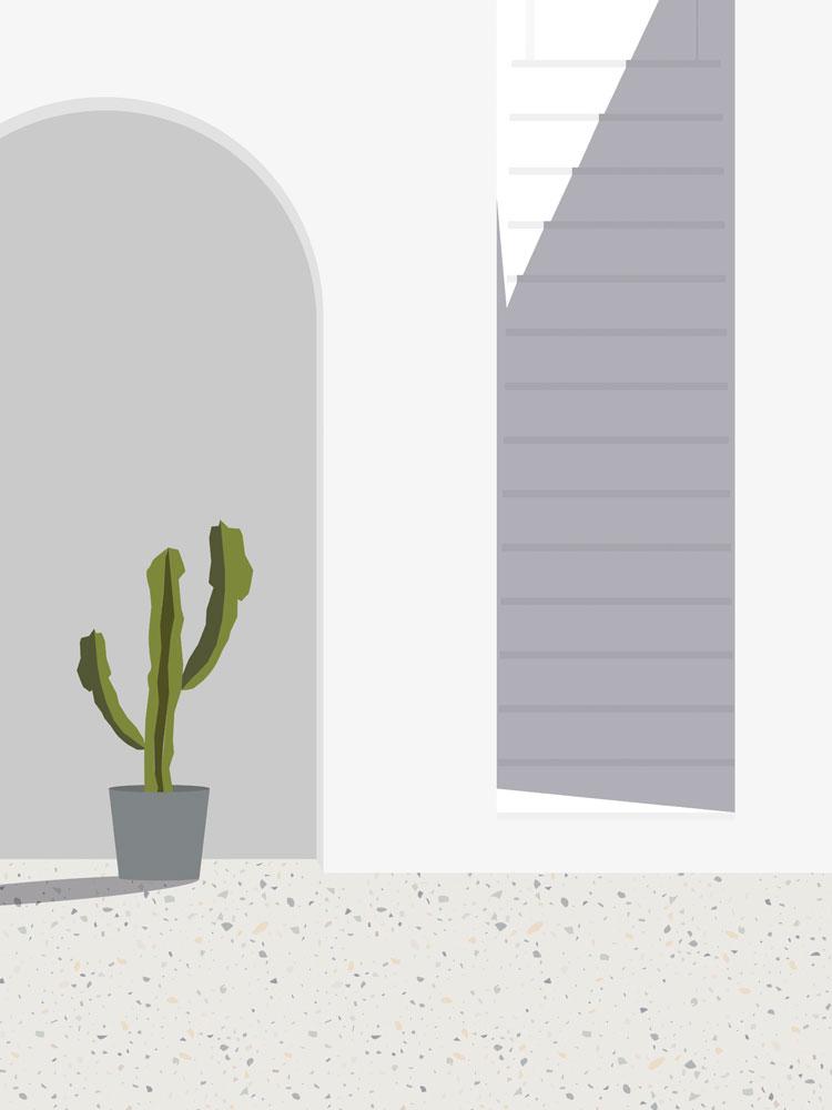 Mediterranean Vibes Illustration