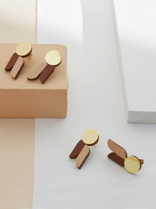 Graphic Stud Earrings Armonia