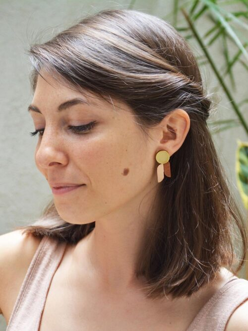 Graphic Stud Earrings Armonia