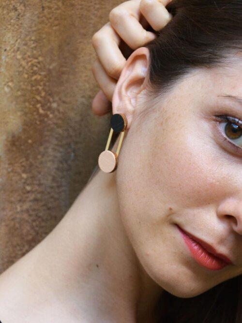Long earrings Armonia