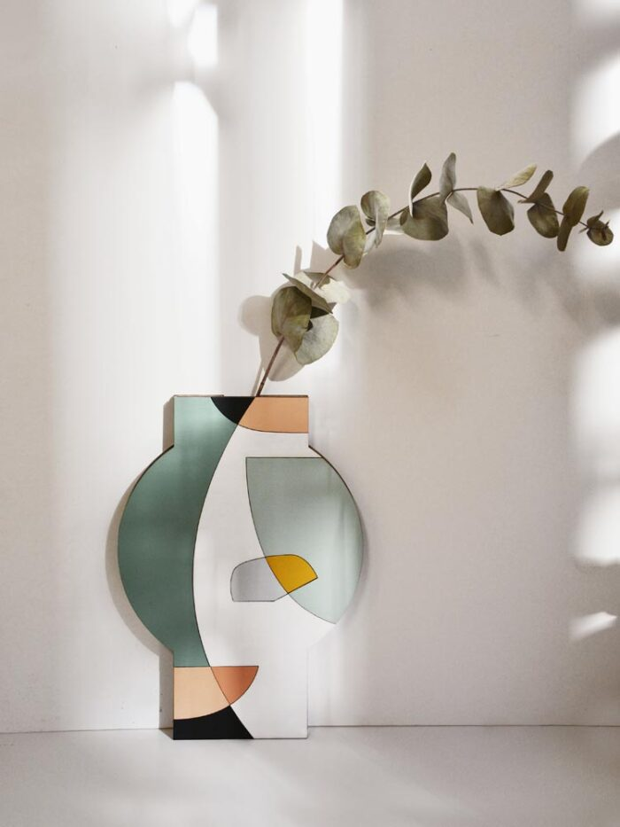 Wooden vase Wall Hanging Vase Anfo
