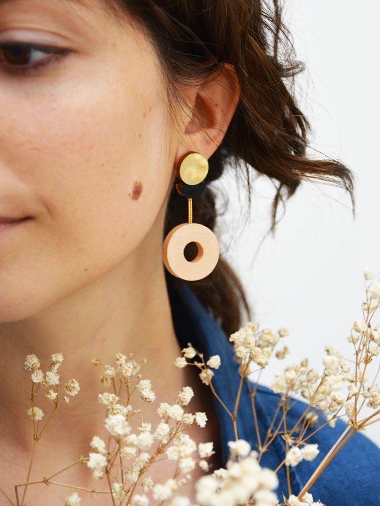 Cometa Dangle Earrings